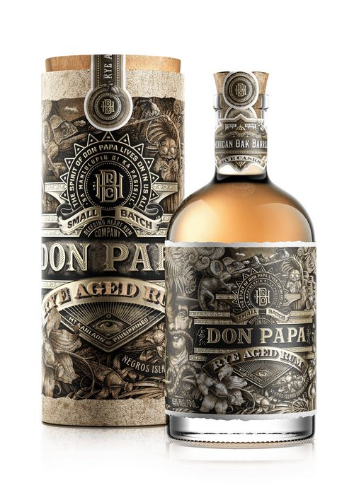 rum don papa rye aged limited edition