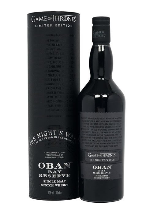 oban game of thrones whisky